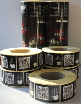 Asset Tracking Barcode Labels