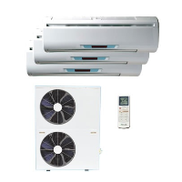 Easyfit KMS-121224/X1c Multi-Split Air Conditioning Unit Powered By A Toshiba Compressor