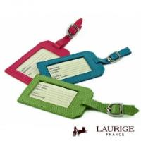 LAURIGE Leather Luggage Label / Tag
