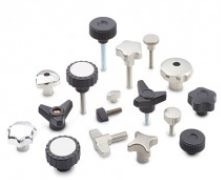 Star or Hand knobs, Wing & Knurled Thumb Screws & Nuts