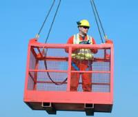 Height Safety Equipment Man-cages for Forklift Trucks