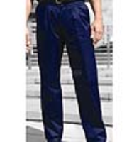 Davern Pleated Front Trousers with Pressed Seams