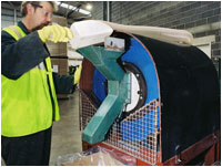 Fully automatic bulk-fill and top-up line