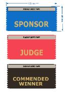 Ribbons for events - Commended Winner