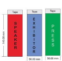 Exhibitor ribbons