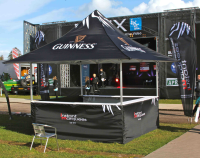 THE INSTANT MARQUEES BAR TENT
