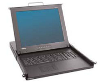 TMCAT1728-PAC  Raritan Dual User, 17-inch LCD Console Drawer with Integrated 8 Port Cat5 KVM Switch. Includes 8 x MCUTP06-USB cables