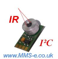Infra red thermometer module