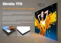 Ultra-slim LED Tension Fabric Graphic Displays