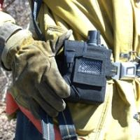 Wearable First Responder Chemical Detecting Alarm