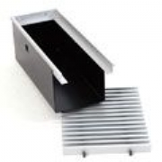 Flexible Aluminium Cross Blade Grille for Trench Heating
