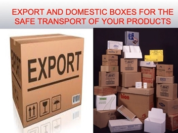 Transit and export packaging