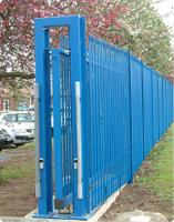 Automated school security gates