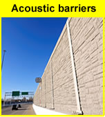 Sound reflective timber fencing systems