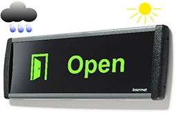 LED Signs - IP66 Weatherproof Signs for outdoor use