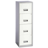 Steel Pierre Henry 4-Drawer Filing Cabinet
