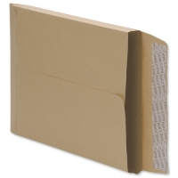Manilla C4 Peel and Seal Gusset Envelopes