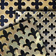 Decorative Polished Brass Grille Sheets