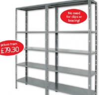 Connect 2 heavy duty shelving system from our online shop