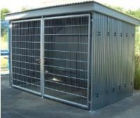 Secure Free Standing Cycle Compound