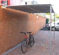 Budget Lean To Cycle Shelter