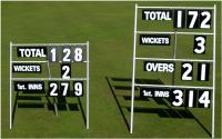 Large Portable Cricket Scorers