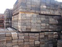 Used Jarrah Relay 1 railway sleepers