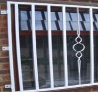 Sliding Security Window Grill Bars