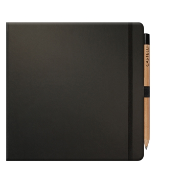 Contemporary styled square notebook from Stablecroft