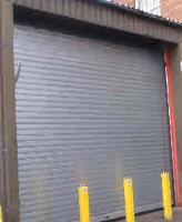 Traditional Fire Shutters