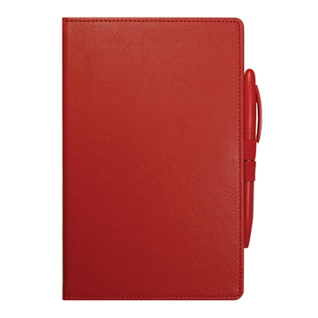 Red double loop notebook from Stablecroft