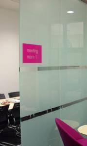 Black-out privacy window film