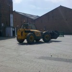 Industrial Lorry Mounted Forklift Training