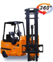 Battery Electric Multi Directional 4-way Sideloading Articulated Forklift Truck