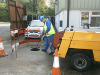 Anglian Water sewer Wiltshire