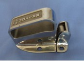 No. 91HSS Brixon Latch Body, Handle & Strike, Stainless Steel As Cast Finish