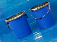 30 Litre UN Approved Plastic Pail with Lever Ring Closure