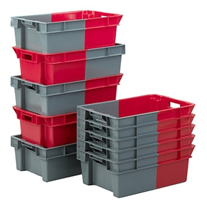 180º (degree) Stacking and Nesting Containers