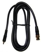PROLINE-PLUS - RG59 CABLE BNC - RCA PHONO PATCH LEAD GOLD PLATED