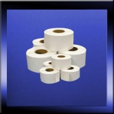 White Direct Thermal Printer Labels