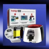 Badgy 200 ID Card Colour Printer Set