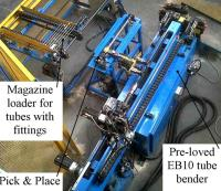 Automatic loaders for Tube benders