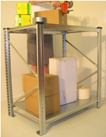 Galvanised Packing Benches