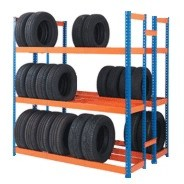 Double Sided Tyre Racking