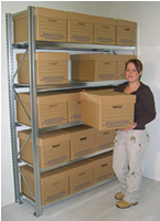Galvanised Archive Storage
