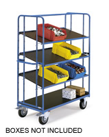 Adjustable Shelving Trolleys