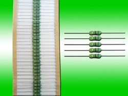 Flame-proof 1Watt Metal Film Resistors