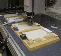 Industrial Plastic CNC Polishing