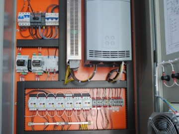 Dry Air Cooler factory fitted fan control panels