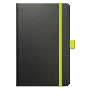 Tucson Edge AM - notebook in black and lime green